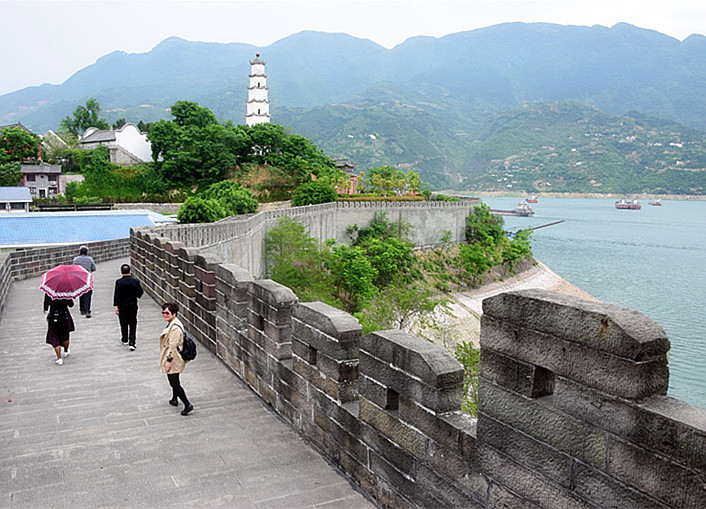 夔州古城  诗城奉节