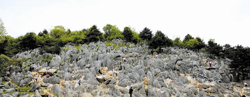 万亩石林景区