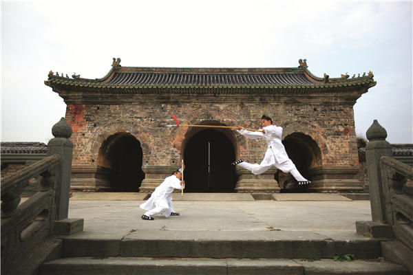 皇族间秘传拳法:武当玄武拳