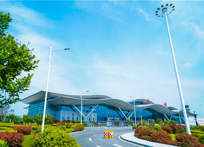武当山机场环境优美