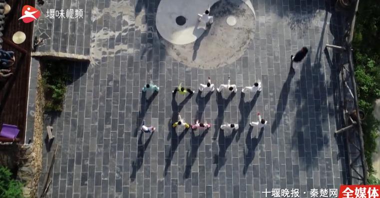 【资讯】有一群广东小朋友集体在武当山做这件事