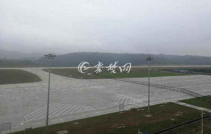 【资讯】武当山机场大变样啦  机坪面积扩大一倍