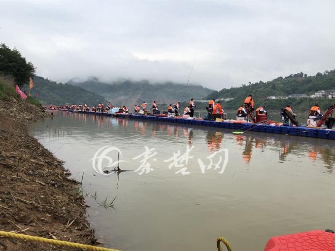 2018中国垂钓大赛竹溪闭幕