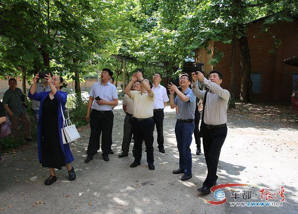 【资讯】北京专家组深入张湾调研文旅及文创项目