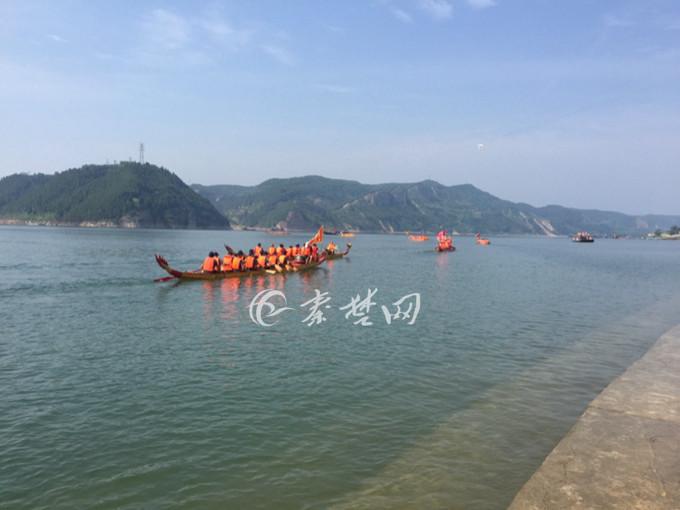 """【资讯】郧阳区第七届""""水源颂""""龙舟节激情开幕"""