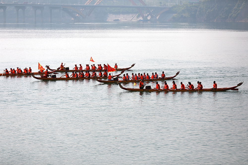 龙舟竞赛迎端午