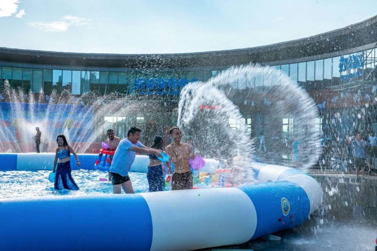 水上狂欢,清凉一夏!太极湖水上纳凉节开幕啦