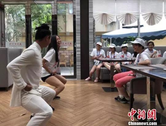 【资讯】40名美国华裔青少年齐聚武当山做了这些事