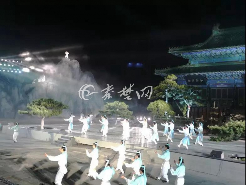 【资讯】精彩!大型山水实景演出《道典武当》首次试演