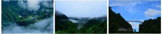 神农架云海景观 恍若仙境