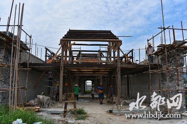 【资讯】丹江口市浪河镇明清老街复建工程有序推进