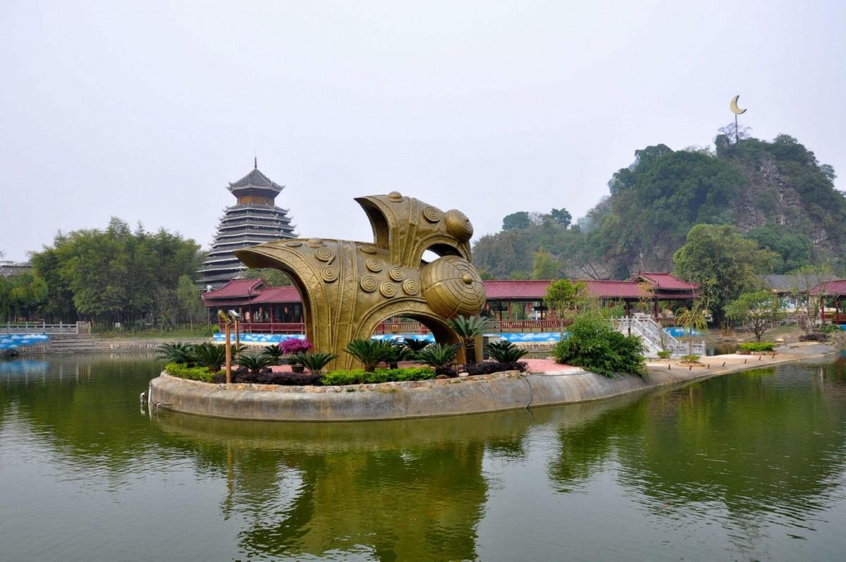 桂林、阳朔、漓江、银子岩、象鼻山、刘三姐大观园双飞6日游