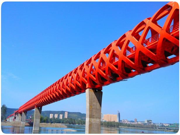 丹江口市沧浪洲生态湿地步行桥