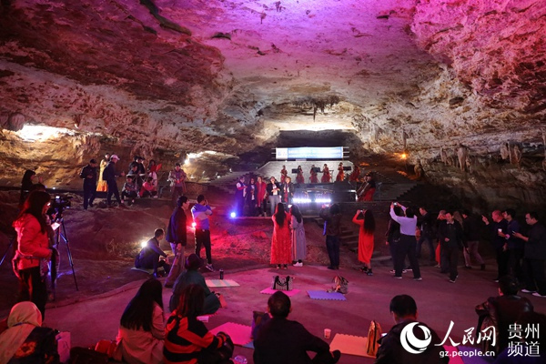 【资讯】全球首场交响乐溶洞诗会在绥阳双河洞举行