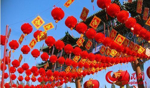"""【资讯】春节旅游晋升""""新年俗"""" 文化景区满是年味儿"""
