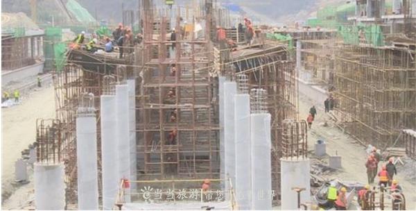 【资讯】汉十高铁十堰北站站台基本完工 6月联调联试