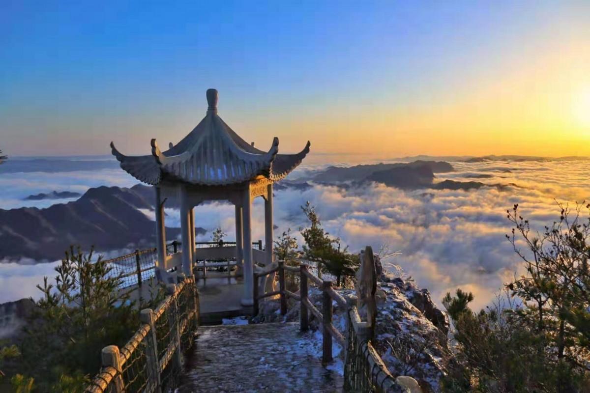【游记】三月好春光,去天竺山遇见冰雪世界