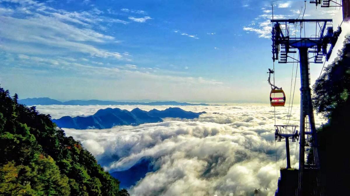 本周末,去天竺山赏雾凇、观奇峰、看奇观!