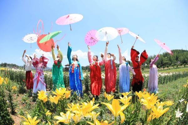 【资讯】丹江口首届百合花文化艺术旅游节开幕