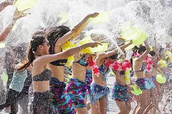 【资讯】6大活动引爆太极湖纳凉节/泼水节