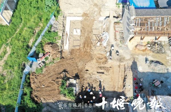 【资讯】厉害了!房县西关老街发现一座汉代古墓