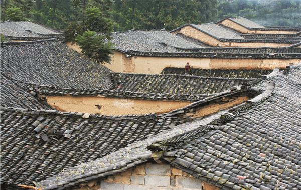 中国传统古村落--郧西县上津镇津城村