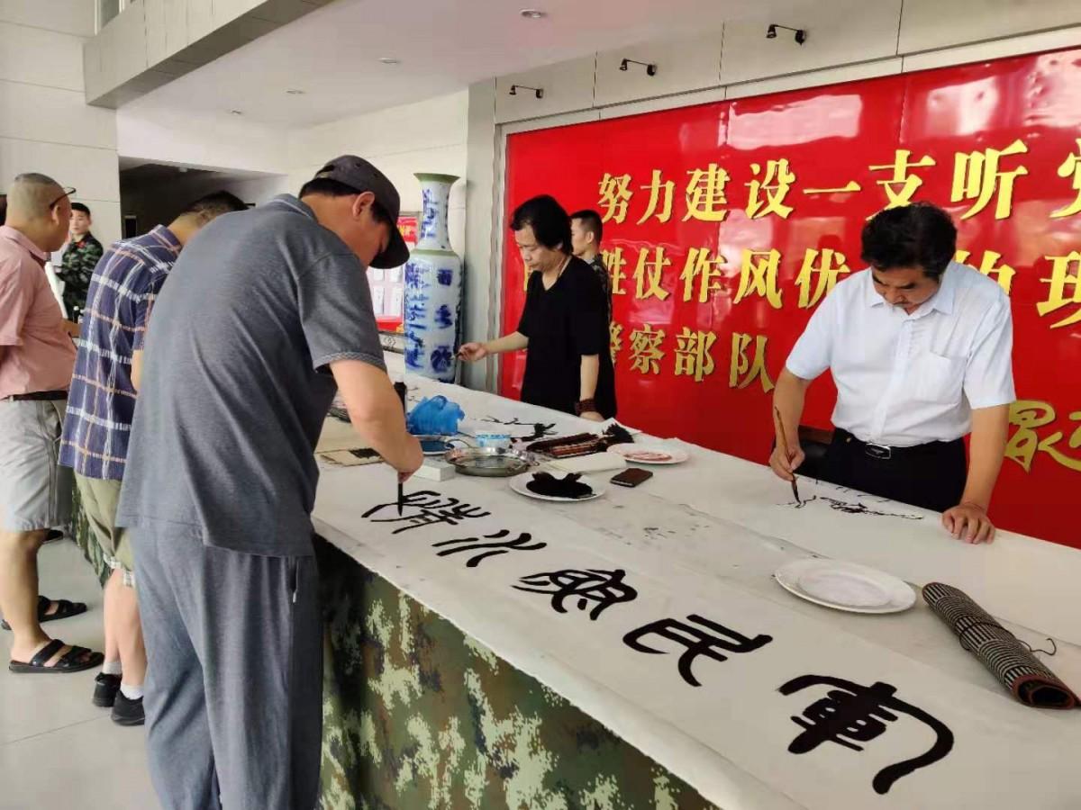 【资讯】茅箭区举办优秀文化进军营活动
