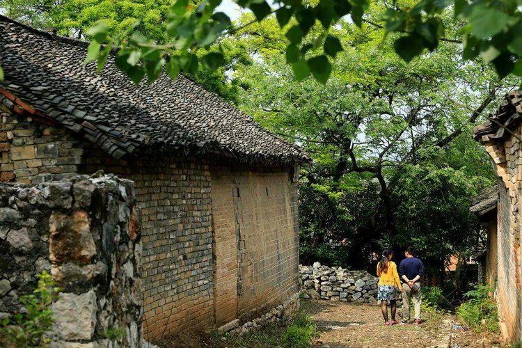 中国传统古村落--丹江口市石鼓镇贾家寨村