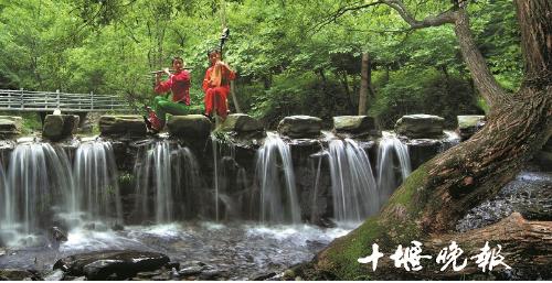 【资讯】丹江口官山镇:深山溪涧中觅清凉
