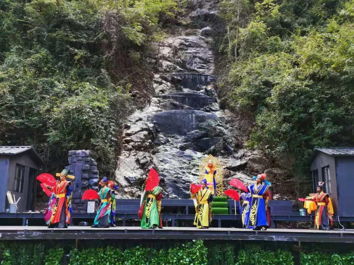 九龙瀑景区即将添加新项目!