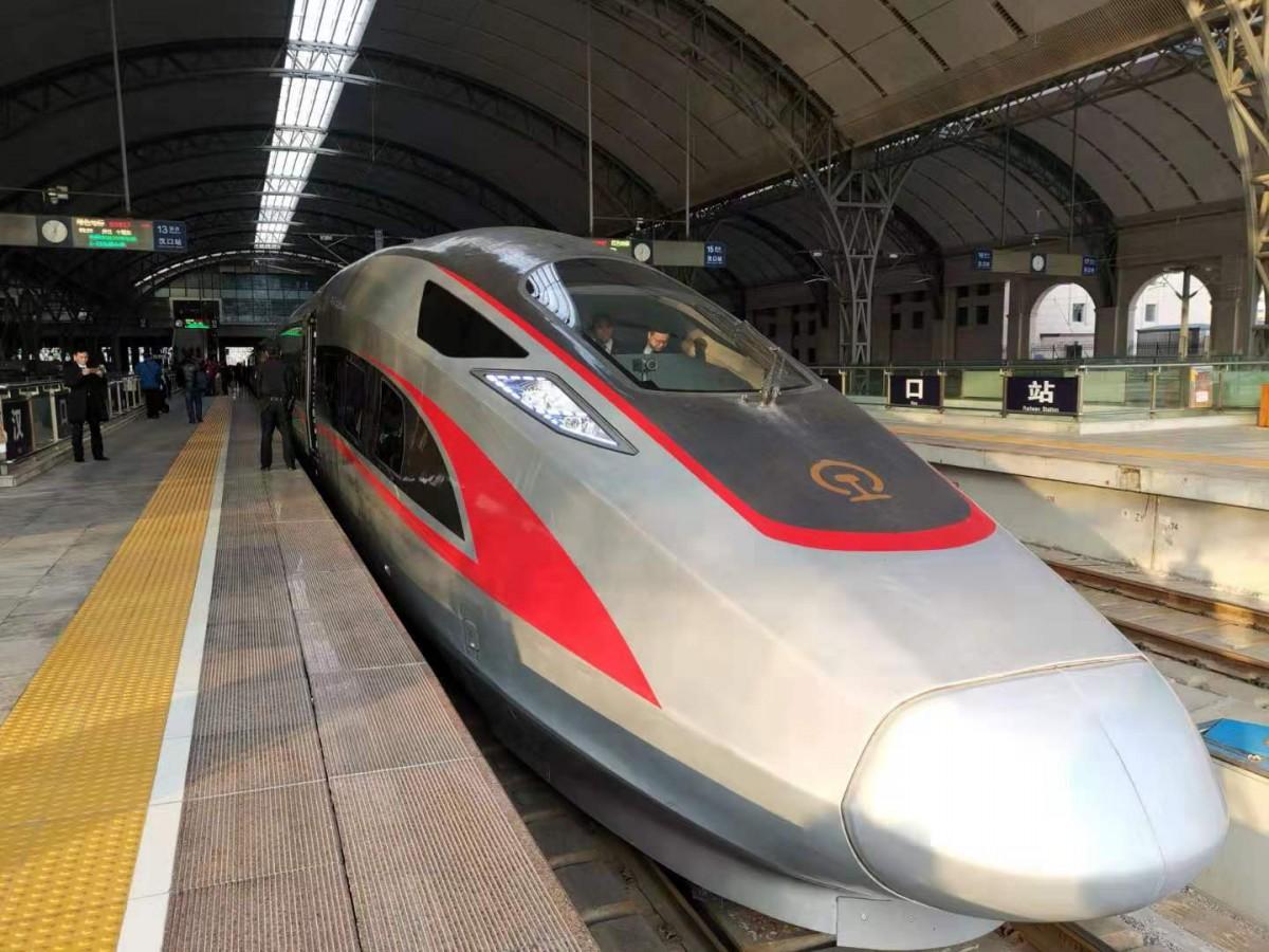 百余家媒体聚焦首趟汉十高铁