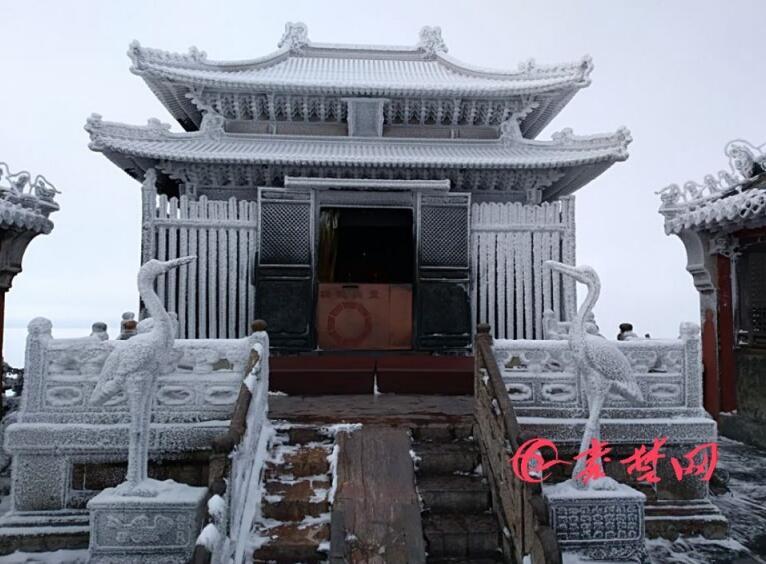 【资讯】今天武当山索道恢复运营,去武当山赏雪景吧