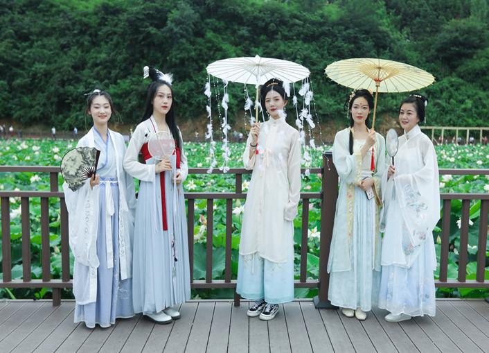 黄龙镇首届荷花文化旅游节18日开幕,3万人共赏53亩荷花