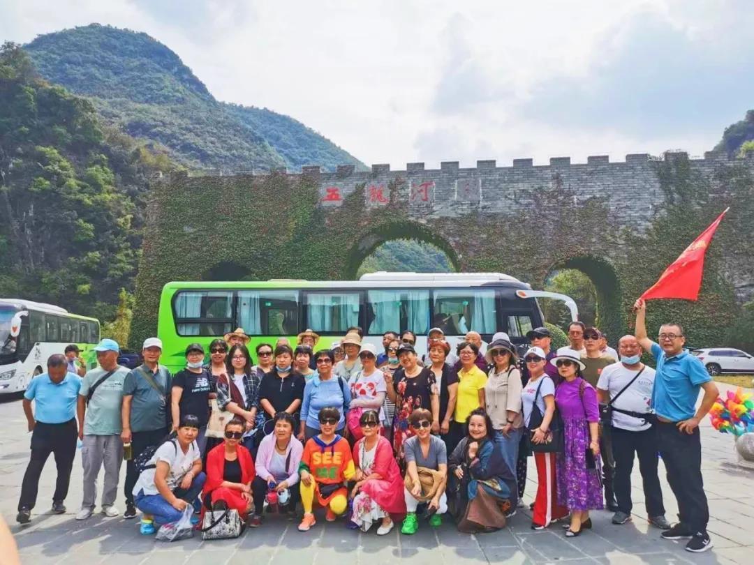 【资讯】火!五龙河景区一周迎1500人跨省旅游团