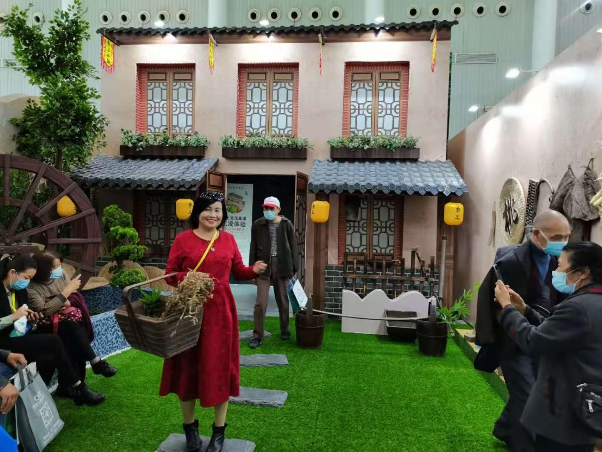玩嗨了!第二届世界大健康博览会竹溪馆备受游客喜爱!