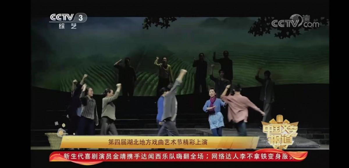 竹溪《山茶花》昨晚亮相央视综艺频道